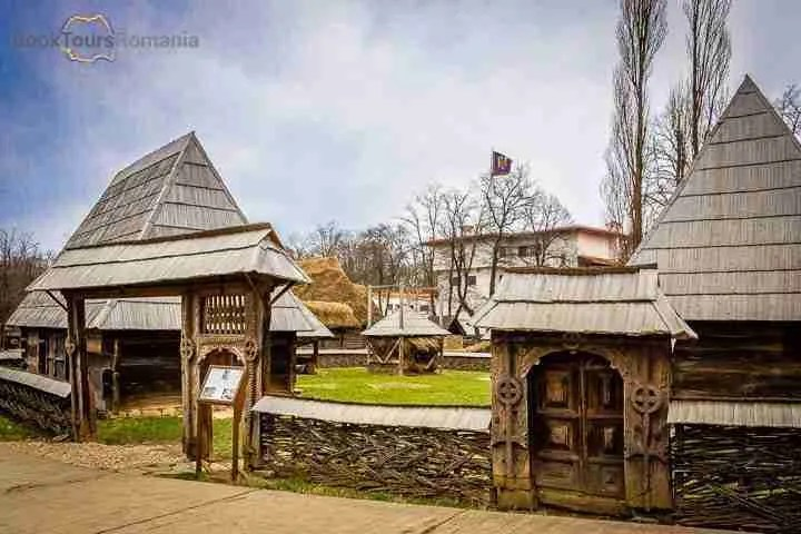 Maramures household at the Village Museum in Bucharest