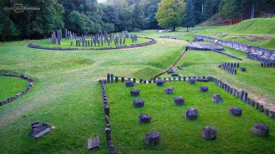 Sarmizegetusa, the capital of Dacian Kingdom