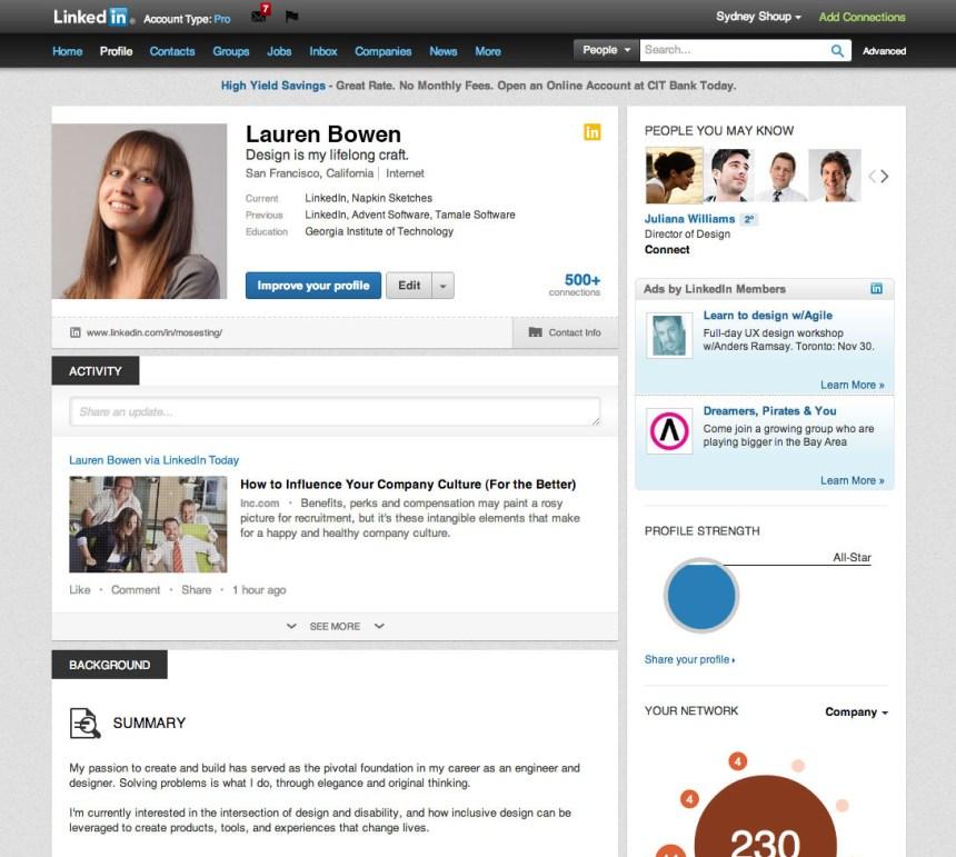 bowen linkedin profile
