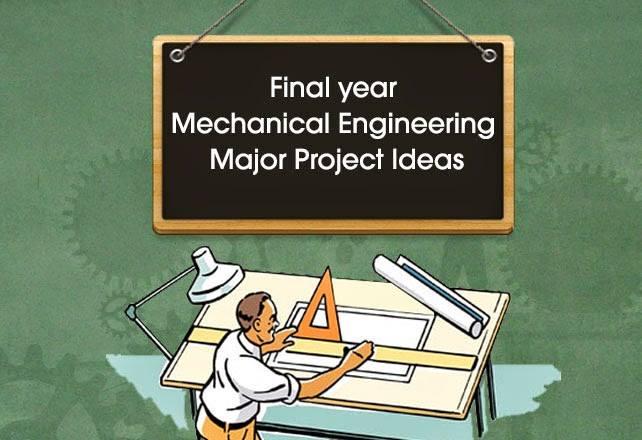 mechanical engineering project topics