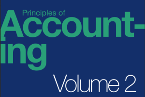 Principles of Accounting Volume 2 Managerial Accounting