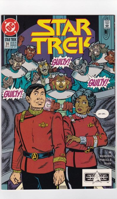 Star Trek: Comic book by Daniel Ramirez
