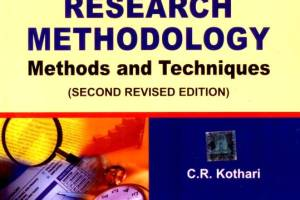 Research Methodology Methods and Techniques pdf