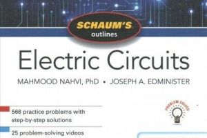 Schaum's Outline of Electric Circuits Seventh Edition pdf