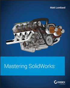 Mastering SolidWorks by Matt Lombard PDF