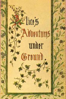 Alice's Adventures Under Ground By  Lewis Carroll Pdf