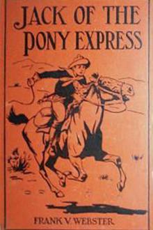 Jack of the Pony Express By  Frank V. Webster Pdf