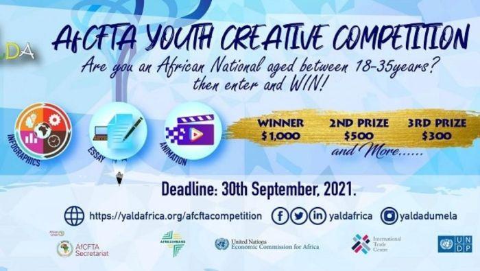 YALDA-AfCFTA Youth Creative Competition, Africa