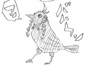 宇髄の鎹鴉