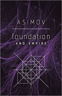 """""""Foundation and Empire"""" by Isaac Asimov (Book cover)"""
