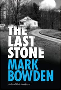 """The Last Stone"" by Mark Bowden (Book cover)"