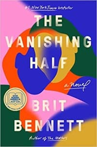 """The Vanishing Half"" by Brit Bennett (Book cover)"