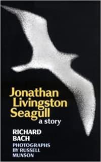 """Jonathan Livingston Seagull"" by Richard Bach (Book cover)"