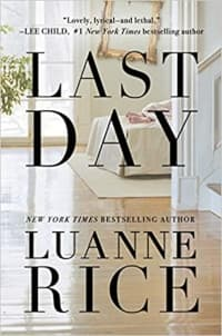 """""""Last Day"""" by Luanne Rice (Book cover)"""