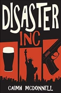 """""""Disaster Inc"""" by Caimh McDonnell (Book cover)"""