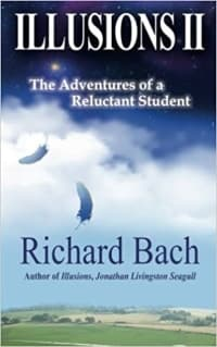 """""""Illusions II"""" by Richard Bach (Book cover)"""
