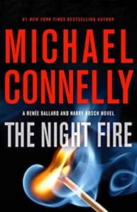"""The Night Fire"""" by Michael Connelly (Book cover)"""