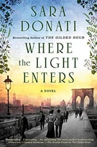 """""""Where the Light Enters"""" by Sara Donati (Book cover)"""