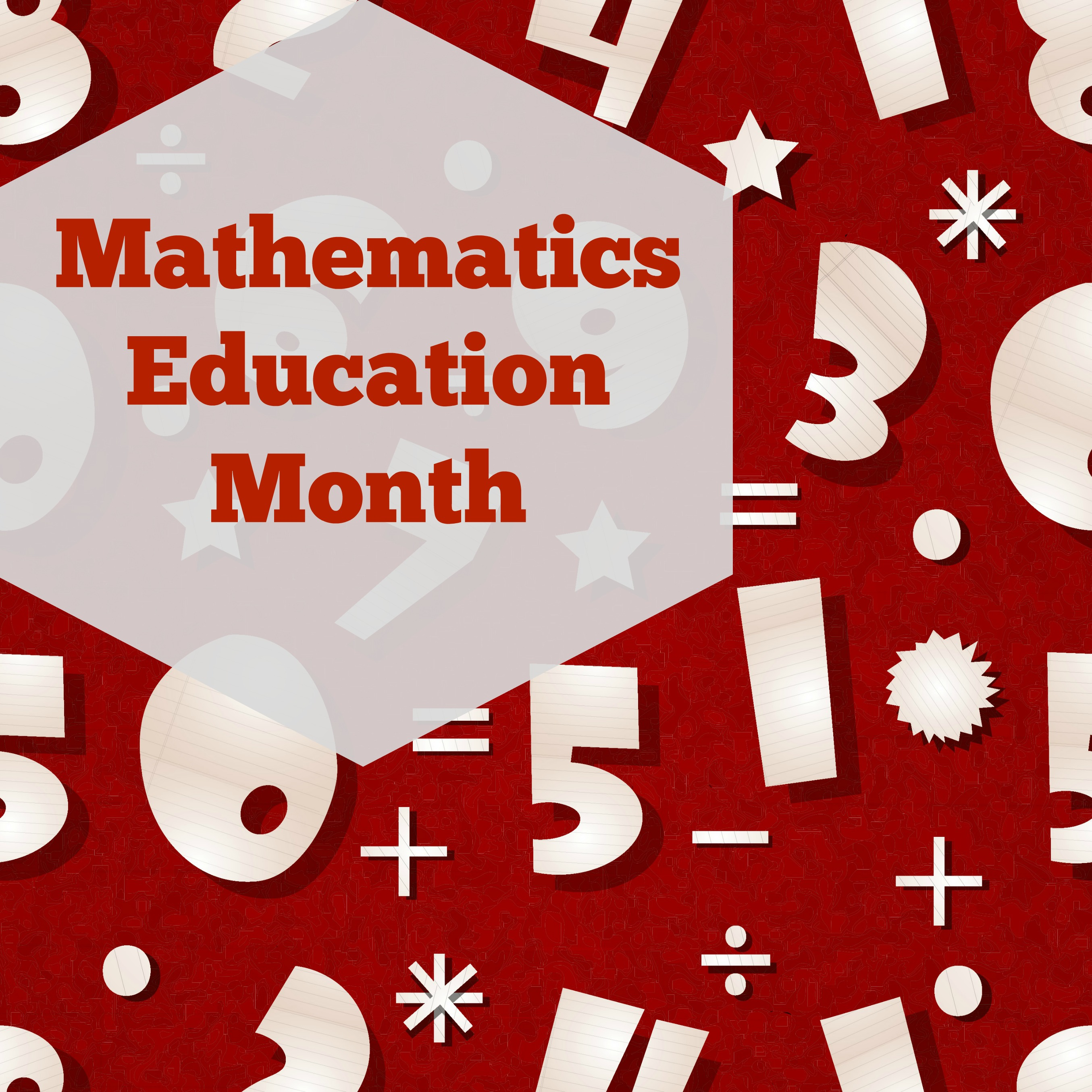 Mathematics Education Month What We Re Using For Math