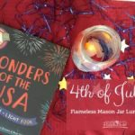 Mason Jar Luminaries for the 4th of July