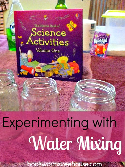Experimenting with Water Mixing