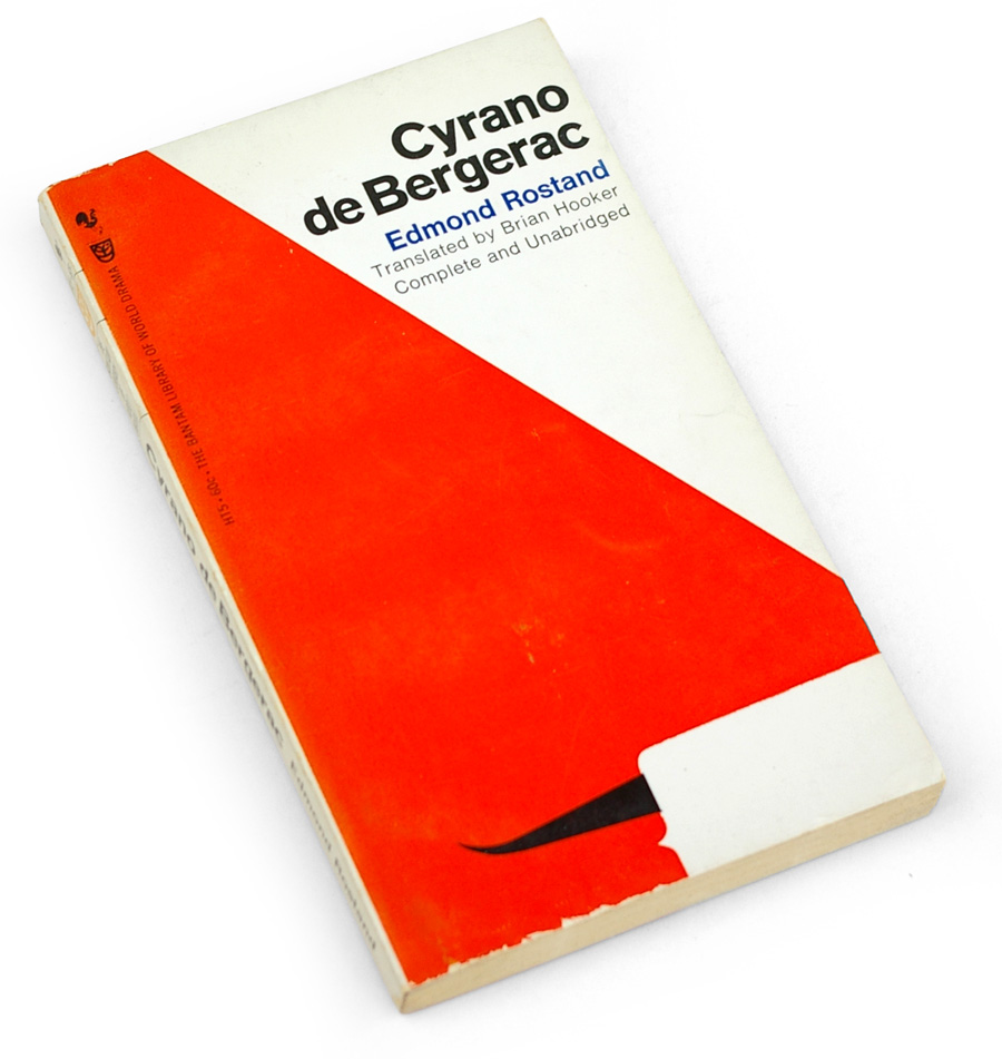 Photo: Cyrano de Bergerac Book Cover
