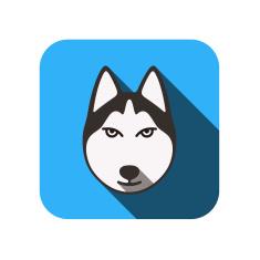 stock-illustration-34178930-animal-face-ui-flat-design