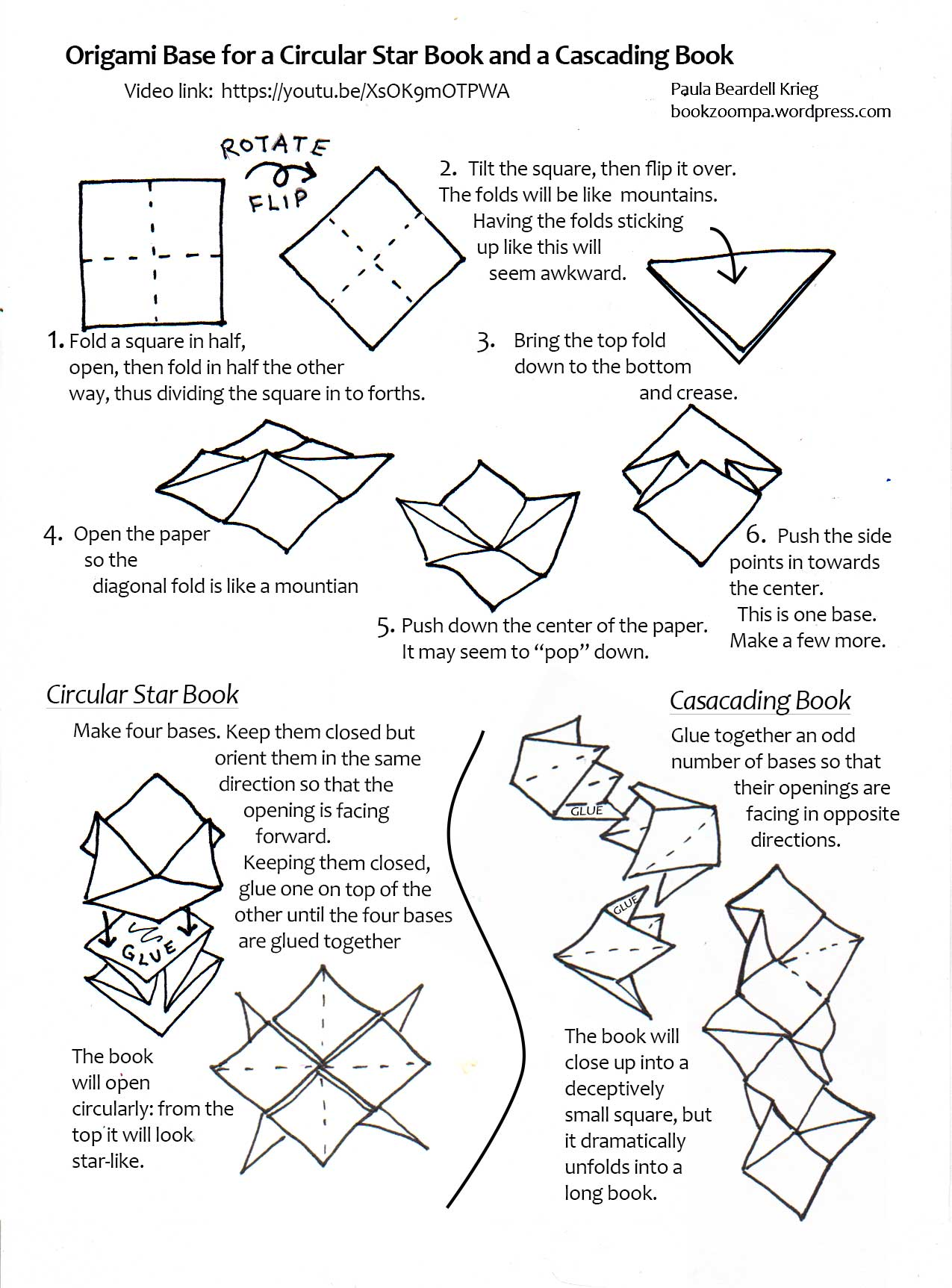 Origami Pamphlet Playful Bookbinding And Paper Works