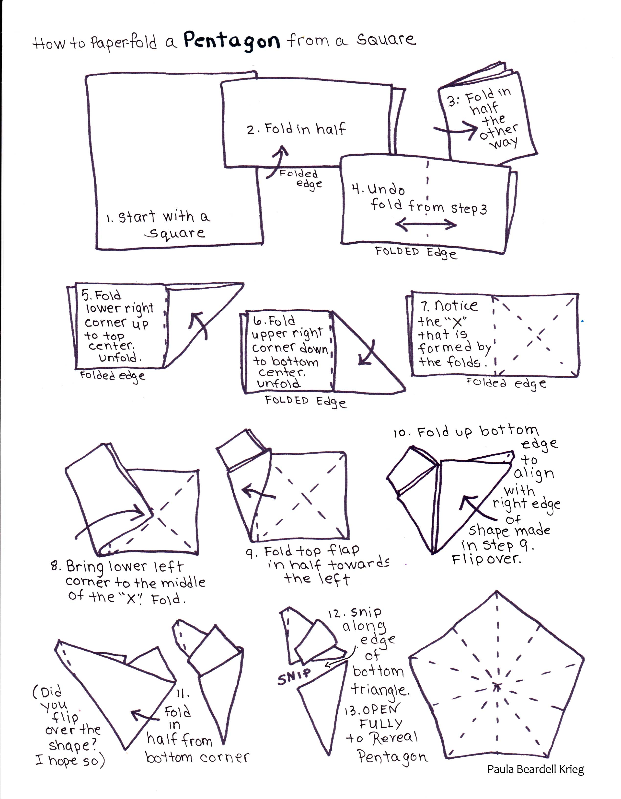 Origami Star Diagrams Image Search Results