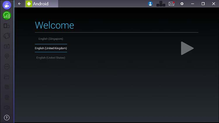 BlueStacks settings