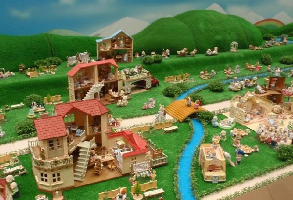 見えてきたシルバニア村