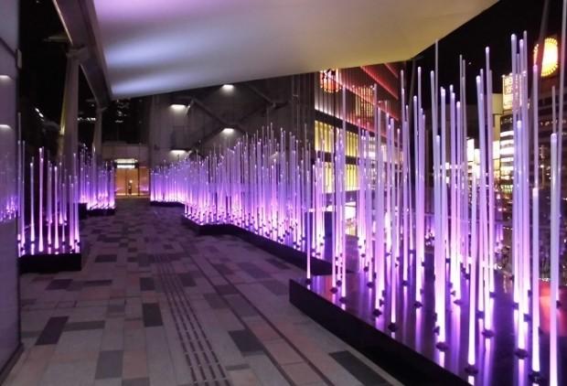 東京駅グランルーフイルミネーション
