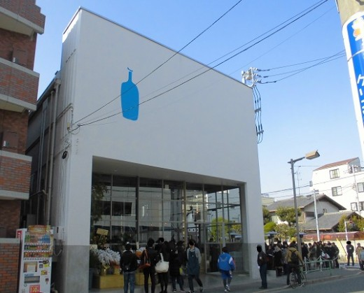 混んでいるBlue bottle coffee