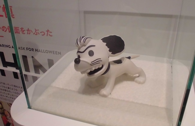 「SNOOPY MUSEUM TOKYO」の様子
