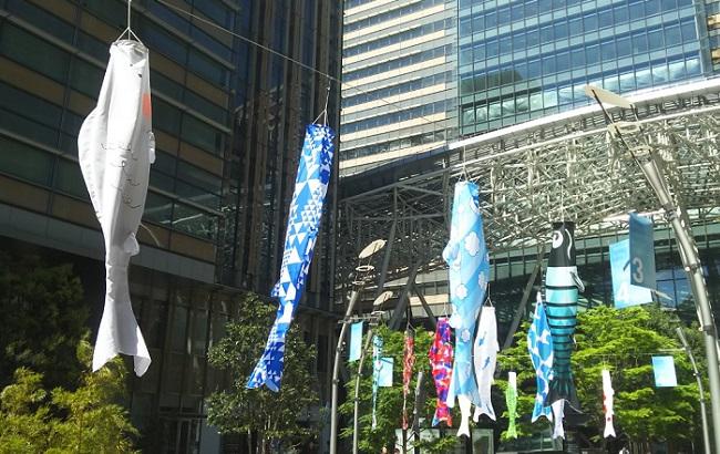「ミッドパークギャラリー:こいのぼりコレクション」in 2017
