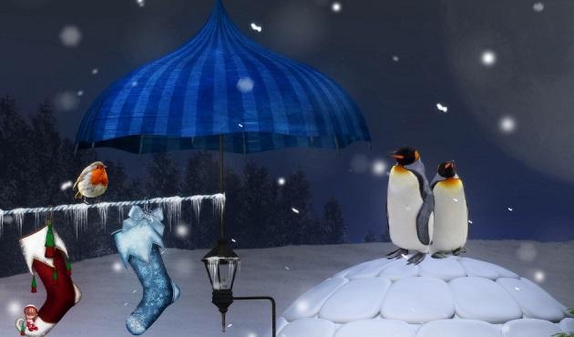 ペンギンちゃんのリラックスTIME