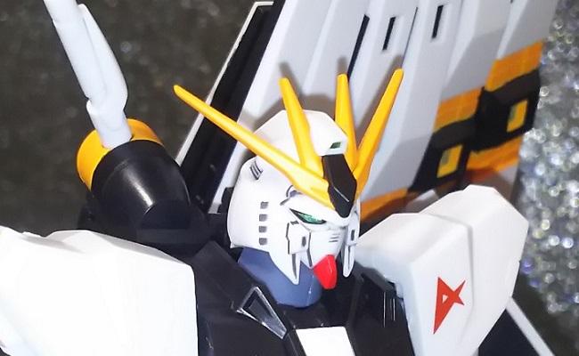 """フィンファンネル装備で!…やっぱり""""ROBOT魂のνガンダム""""は伊達じゃない!!"""
