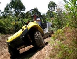 RUTA EN BUGGIE Le proponemos una auténtica aventura por unas pistas profesionales en buggies. Pistas de tierra para recorrer piloto y acompañante.