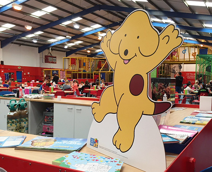 Spot The Dog Standee Family Soft Play Centre