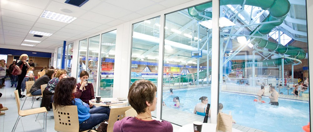 Leisure Centre Family Advertising
