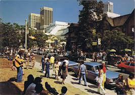 Yorkville in the 60's was always exciting and colourful.