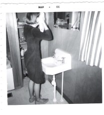 Your Boomer Broadcaster in 1966. I even remember the dress. It was dark green fake cotton suede and I sewed it myself.