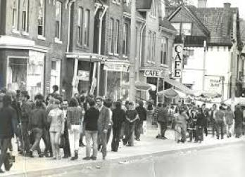 Yorkville Avenue in the sixties. Was it really fifty years ago?