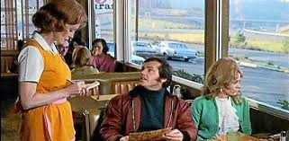Jack Nicholson's diner scene in 1969's Five Easy Pieces is a classic.