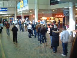 The downside of Tim Hortons - the #@$%^&$ lineups.