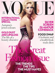 """Do you """"get"""" fashion magazines like Vogue or InStyle?"""