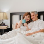Senior Couple Enjoying Best Mattress For Boomers