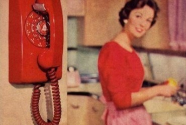 60S Wall Phone - Technology
