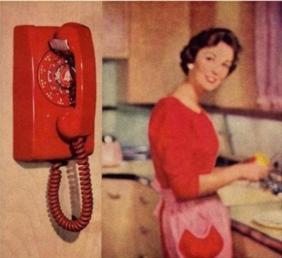 60S Wall Phone - Technology