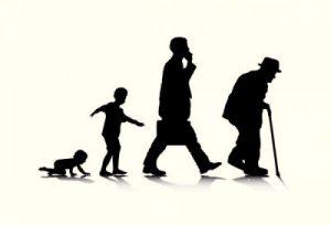 cartoon men aging